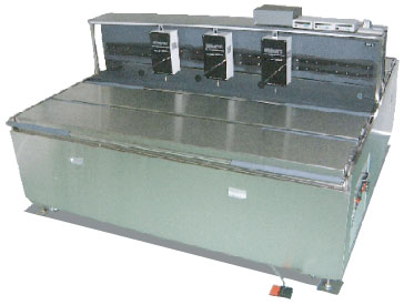 大型デジタル3点厚み測定機