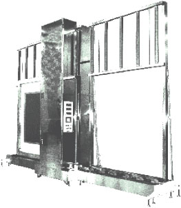 超大型縦型厚み測定機