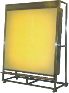 縦型ライトテーブル