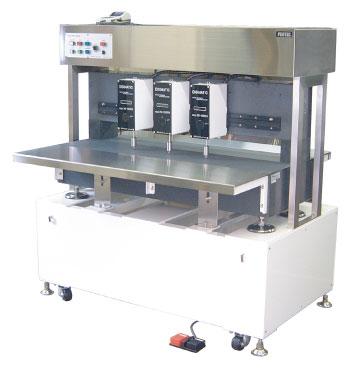 デジタル3点厚み測定機